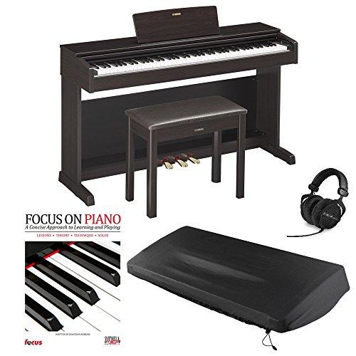 yamaha arius ydp 143 88 key digital piano review piano. Black Bedroom Furniture Sets. Home Design Ideas